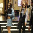 """""""Gigi et Bella Hadid à Milan le 23 septembre 2016."""""""