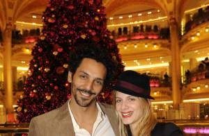 PHOTOS EXCLUSIVES : La sublime Mélanie Laurent et le charmant Tomer Sisley fêtent Noël ensemble...