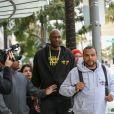"""Lamar Odom fait du shopping dans la bijouterie Gearys à Beverly Hills. Le 5 janvier 2017."""