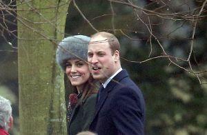 La duchesse de Cambridge et tous les Middleton avec Elizabeth II, de retour