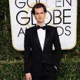 Andrew Garfield lors des Golden Globe Awards à Los Angeles, le 8 janvier 2016.