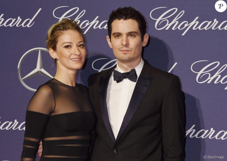 Olivia hamilton et son compagnon damien chazelle lors de la soir e de gala du festival - Damien thevenot et son compagnon ...