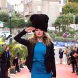 """""""Julie Ferrier - Cérémonie de clôture du 27ème Festival du film britannique de Dinard, France, Dinard le 1er octobre 2016."""""""