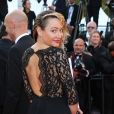 """Julie Ferrier - Montée des marches du film """"Julieta"""" lors du 69ème Festival International du Film de Cannes. Le 17 mai 2016. © Olivier Borde-Cyril Moreau/Bestimage"""