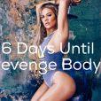 """Khloé Kardashian pour la promotion de son émission """"Revenge Body"""", diffusée à partir du 12 janvier 2017 sur E !"""