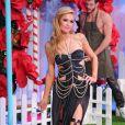 """Paris Hilton au défilé de mode """"Philipp Plein"""" à Milan, le 21 septembre 2016."""