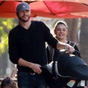 Mila Kunis et Ashton Kutcher : Fous rires pour une sortie avec Wyatt et Dimitri
