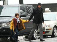 PHOTOS : Hugh Jackman, en famille, rend visite à... sa copine nouvelle maman Naomi Watts !