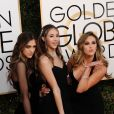 Sophia Rose Stallone, Sistine Rose Stallone, Scarlet Rose Stallone - 74ème cérémonie annuelle des Golden Globe Awards à Beverly Hills, le 8 janvier 2017. © Kevin Sullivan/Zuma Press/Bestimage