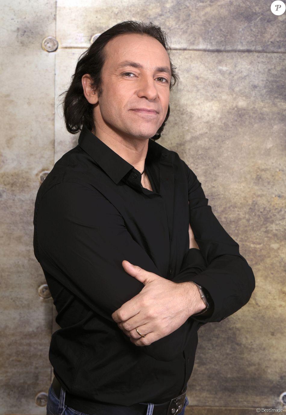 Portrait de Philippe Candeloro le 17 novembre 2016.