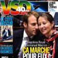 """Couverture de """"VSD"""", numéro du 12 janvier 2017."""