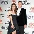 Elon Musk et son ex-femme Talulah Riley à Burbank, le 29 septembre 2012.