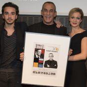 Thierry Ardisson honoré sous le regard ému de sa femme Audrey Crespo-Mara