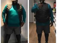 Issa Doumbia aminci : Son nouveau corps après trois mois d'effort !