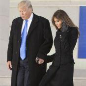 Donald Trump : En route pour son investiture, main dans la main avec Melania