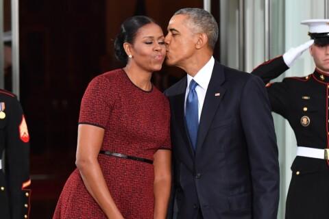 Investiture de Donald Trump : Barack et Michelle Obama complices jusqu'au bout