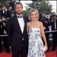 Anne Marivin et Joachim Roncin à Cannes en mai 2008.
