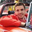Jules Bianchi lors de la parade des pilotes sur le circuit de SPA Francorchamps, le 22 août 2014