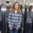 """Alysson Paradis- Défilé de mode """"Chanel"""", collection Haute-Couture printemps-été 2017 au Grand Palais à Paris. Le 24 janvier 2017 © Olivier Borde / Bestimage"""