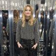 """Vanessa Paradis - Défilé de mode """"Chanel"""", collection Haute-Couture printemps-été 2017 au Grand Palais à Paris. Le 24 janvier 2017 © Olivier Borde / Bestimage"""