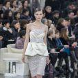 """Défilé de mode """"Chanel"""", collection Haute-Couture printemps-été 2017 au Grand Palais à Paris. Le 24 janvier 2017. © Olivier Borde / Bestimage"""