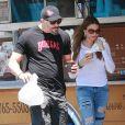 Exclusif - Sofia Vergara et Joe Manganiello achètent des beignets à Los Feliz Le 25 Juillet 2015