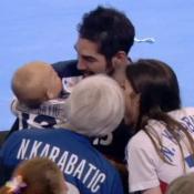 Mondial 2017 : Nikola Karabatic fête sa nouvelle victoire avec Alek et Géraldine