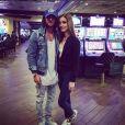 """Rodolphe et Ellen des """"Anges 9"""" à Las Vegas, janvier 2017"""