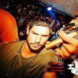 """Rodolphe, candidat anonyme des """"Anges 9"""" en soirée avec Rick Ross et Skrillex, Instagram, 2016"""