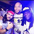 """Rodolphe, candidat anonyme des """"Anges 9"""" au VIP Room de Dubaï avec Flo Rida, Instagram, 2016"""