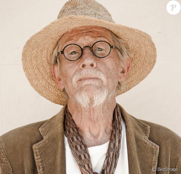 Exclusif - John Hurt - portrait réalisé à Londres le 3 mai sur le tournage de son dernier film, That Good Night.