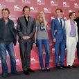 John Hurt, Colin Firth, Svetlana Khodchenkova, Benedict Cumberbatch, Gary Oldman, Mark Strong lors de la présentation à la mostra de Venise en septembre 2011 du film Tinker, Tailor, Soldier, Spy (La Taupe).