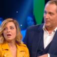 """Priscilla terrifiée dans """"Stars sous hypnose"""" sur TF1 le 28 janvier 2017."""