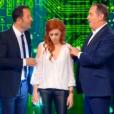 """Anaïs Delva dans """"Stars sous hypnose"""", le 28 janvier 2017 sur TF1."""