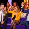 """Chris Marques, Priscilla dans """"Stars sous hypnose"""", le 28 janvier 2017 sur TF1."""