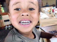King Cairo : À 4 ans, le fils de Blac Chyna et Tyga arbore des dents en diamants