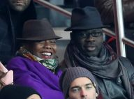 PSG-Monaco : Lilian Thuram et Kareen Guiock en couple au Parc parmi les people