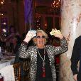 """Véronique de Villèle - Dîner de gala de l'association """"Enfant Star & Match"""" à l'hôtel Carlton à Cannes, le 28 janvier 2017."""