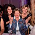 """Annie Cordy, au centre entourée par Stéphanie Parejo et Vanessa Valence lors du dîner de gala de l'association """"Enfant Star & Match"""" à l'hôtel Carlton à Cannes. - Dîner de gala de l'association """"Enfant Star & Match"""" à l'hôtel Carlton à Cannes, le 28 janvier 2017. © Bruno Bebert/Bestimage"""