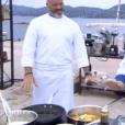 """Philippe Etchebest et Carl - """"Top Chef 2017"""" sur M6. Le 1er février 2017."""