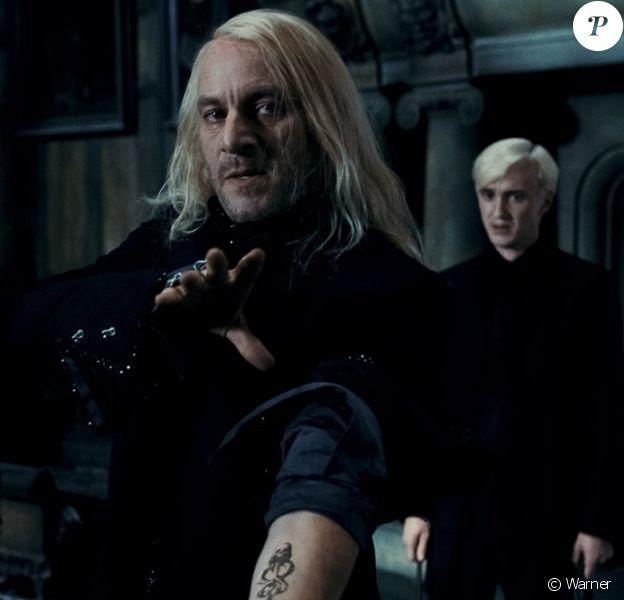 Jason Isaacs, Tom Felton dans Harry Potter et les reliques de la mort - partie 1