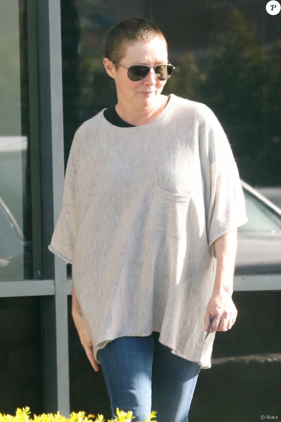 Shannen Doherty à Los Angeles, le 11 janvier 2017