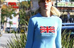 PHOTOS : Tori Spelling... un improbable look !