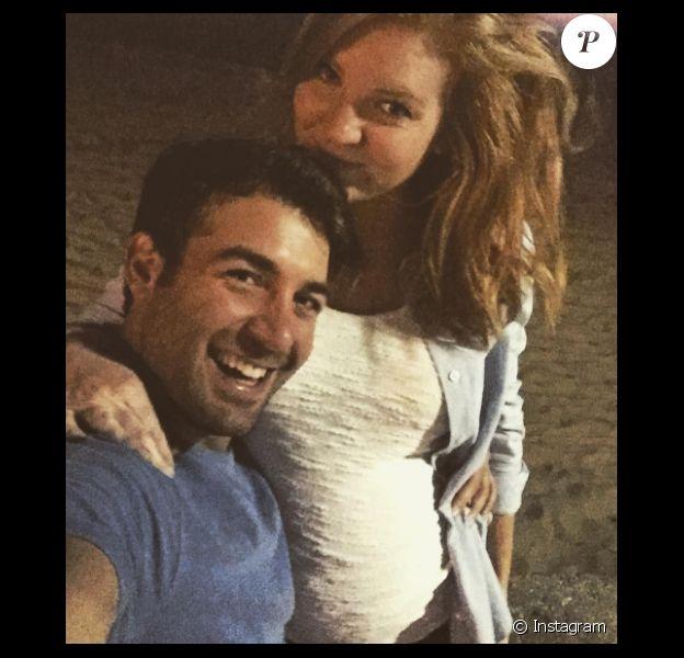 James Wolk et sa femme Elizabeth enceinte - Photo publiée sur Instagram en janvier 2017