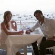 James Wolk et sa femme Elizabeth lors de leur lune de miel - Photo publiée sur Instagram en janvier 2017