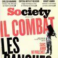 Magazine Society en kiosques le 3 février 2017.