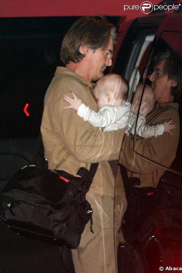 Kyle MacLachlan et son fils Callum