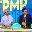 "Cyril Hanouna et Camille Combal dans ""TPMP"", mercredi 22 juin 2016"