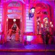 """Soirée """"bal masqué"""" à l'occasion de la sortie de Fifty Shades Darker, à l'Hôtel de Marois, Paris, le 7 février 2017."""