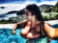 Sarah Fraisou (Les Anges 8) en bikini : Sa poitrine fait débat